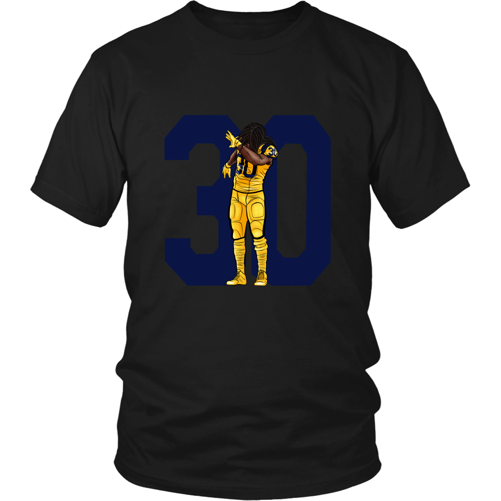 "Todd Gurley ""Dab On Em'"" Shirt - Los Angeles Source  - 6"