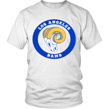 LA Rams Vintage Logo Shirt - Los Angeles Source  - 1
