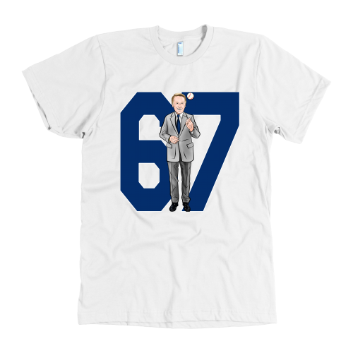 "Vin Scully ""67 Seasons"" American Apparel Shirt - Los Angeles Source  - 5"