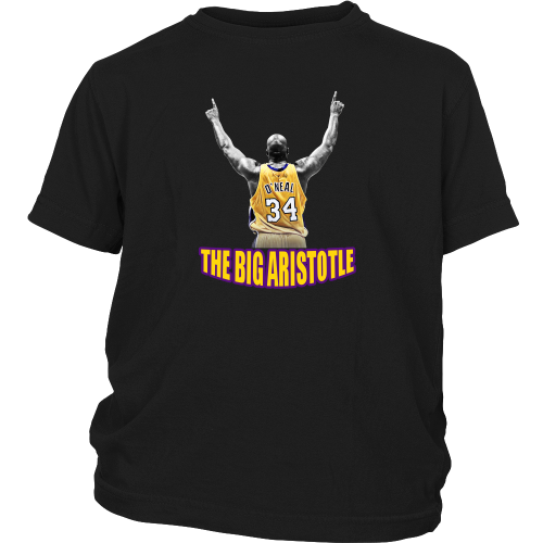 "Shaq Tribute ""The Big Aristotle"" Youth Shirt - Los Angeles Source  - 4"
