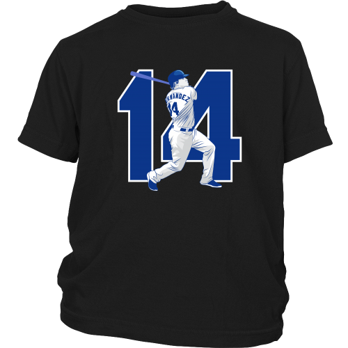 "Enrique Hernandez ""Kike"" Youth Shirt - Los Angeles Source  - 5"