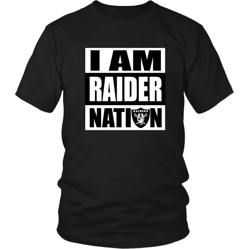 "Raiders ""I Am Raider Nation"" Shirt - Los Angeles Source  - 3"