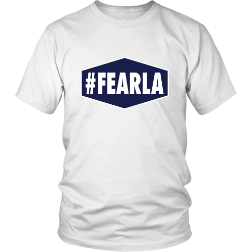 "Dodgers ""#FEARLA"" Shirt - Los Angeles Source  - 4"