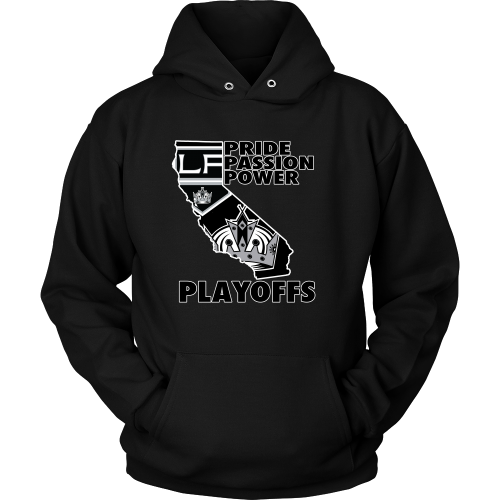 "LA Kings ""Playoff Time"" Hoodie - Los Angeles Source  - 1"