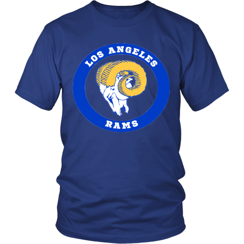 LA Rams Vintage Logo Shirt - Los Angeles Source  - 2