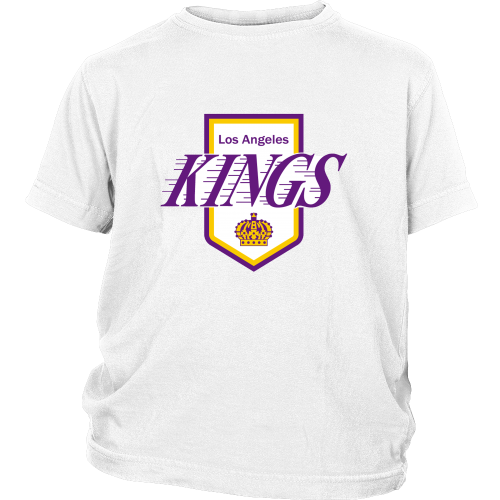 "LA Kings ""Classic 1972 Logo"" Youth Shirt - Los Angeles Source  - 2"