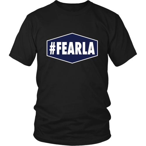 "Dodgers ""#FEARLA"" Shirt - Los Angeles Source  - 7"