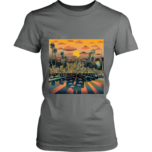 "Los Angeles ""Vibe"" Women's Shirt - Los Angeles Source  - 7"