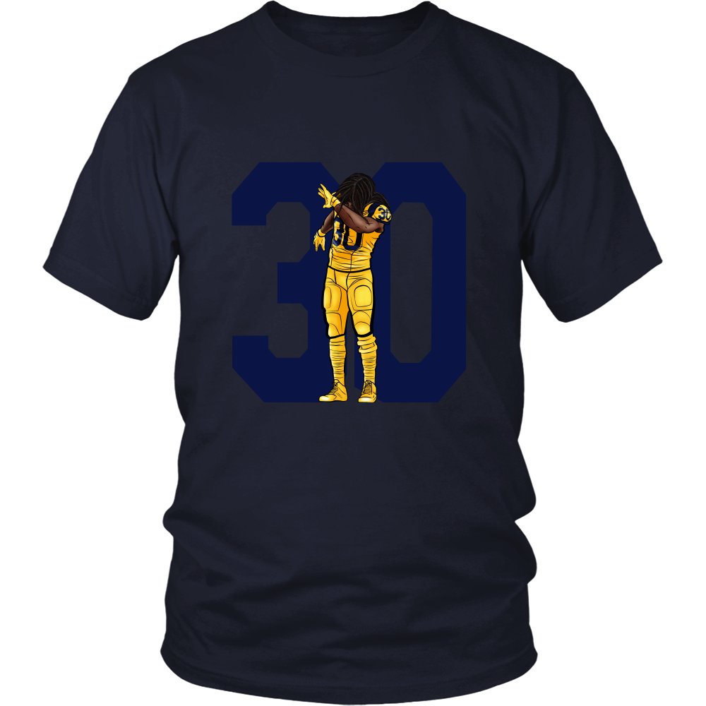 "Todd Gurley ""Dab On Em'"" Shirt - Los Angeles Source  - 7"