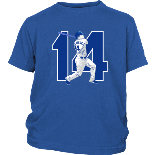 "Enrique Hernandez ""Kike"" Youth Shirt - Los Angeles Source  - 2"