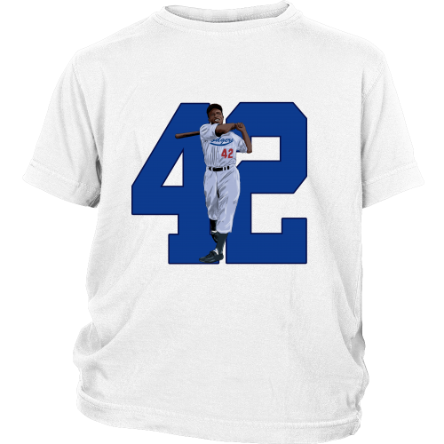 "Jackie Robinson ""Game Changer"" Youth Shirt - Los Angeles Source  - 1"