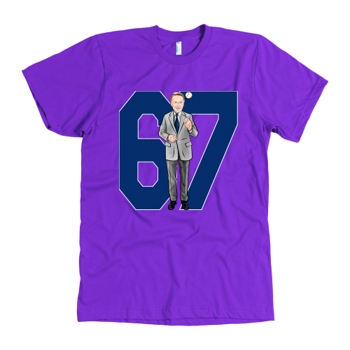 "Vin Scully ""67 Seasons"" American Apparel Shirt - Los Angeles Source  - 4"