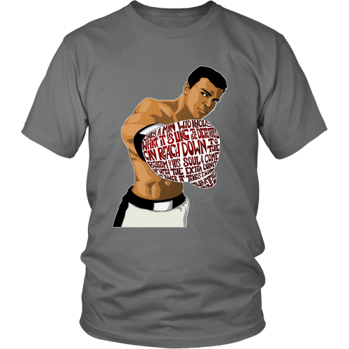 "Muhammed Ali ""Heart of a Champion"" Shirt - Los Angeles Source  - 8"