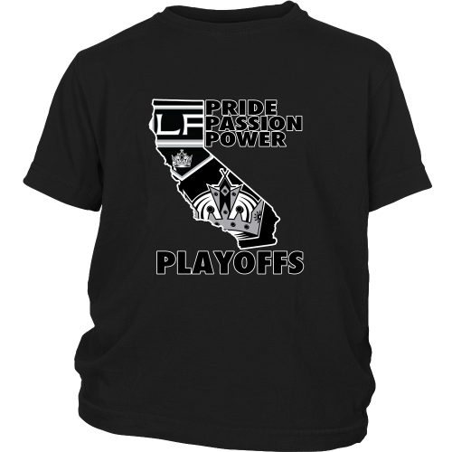 "LA Kings ""Playoff Time"" Youth Shirt - Los Angeles Source  - 1"