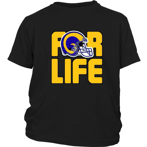 "LA Rams ""For Life"" Youth Shirt - Los Angeles Source  - 3"