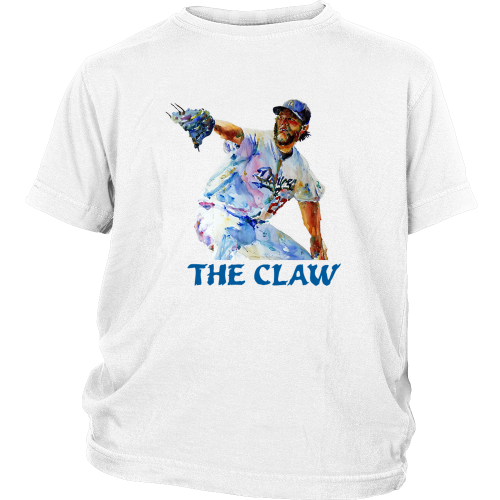 "Clayton Kershaw ""The Claw"" Youth Shirt - Los Angeles Source  - 1"