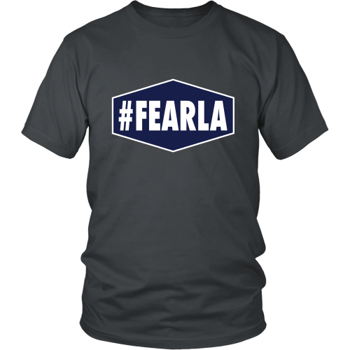 "Dodgers ""#FEARLA"" Shirt - Los Angeles Source  - 3"
