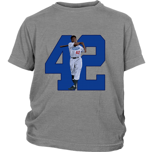 "Jackie Robinson ""Game Changer"" Youth Shirt - Los Angeles Source  - 5"