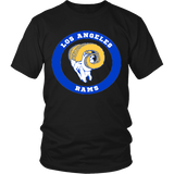 LA Rams Vintage Logo Shirt - Los Angeles Source  - 3