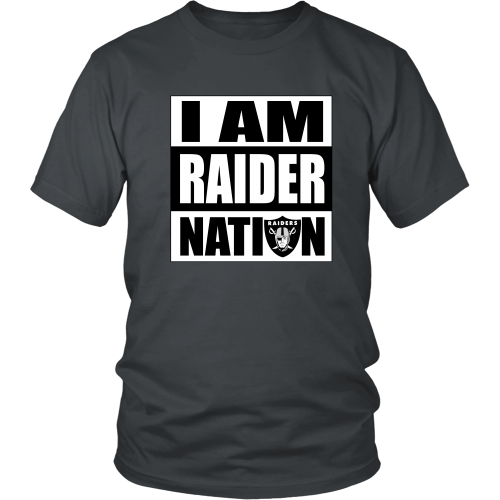 "Raiders ""I Am Raider Nation"" Shirt - Los Angeles Source  - 2"