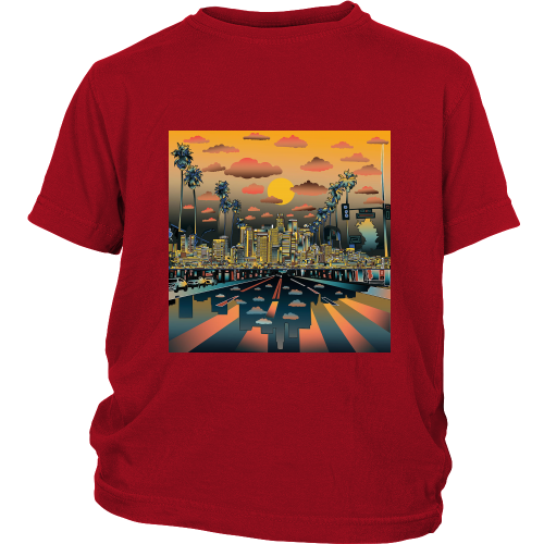 "Los Angeles ""Vibe"" Youth Shirt - Los Angeles Source  - 1"