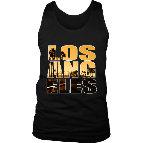 "Los Angeles ""Sunset"" Tank Top - Los Angeles Source  - 1"
