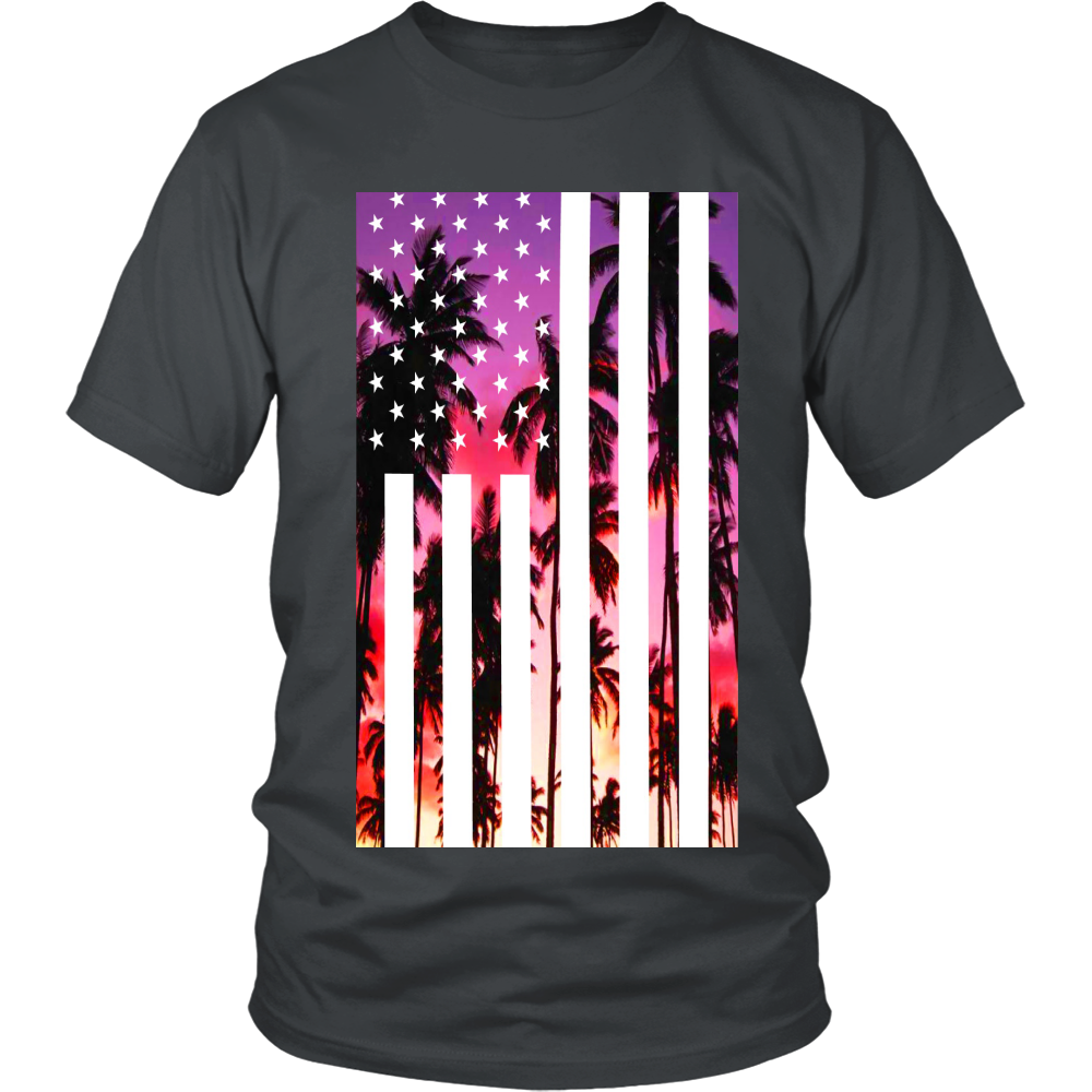 "Los Angeles ""Palm Tree U.S.A."" Shirt - Los Angeles Source  - 3"