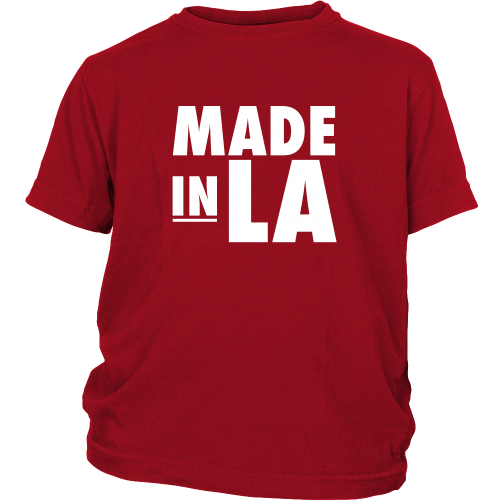 "Los Angeles ""Made In LA"" Youth Shirt - Los Angeles Source  - 3"