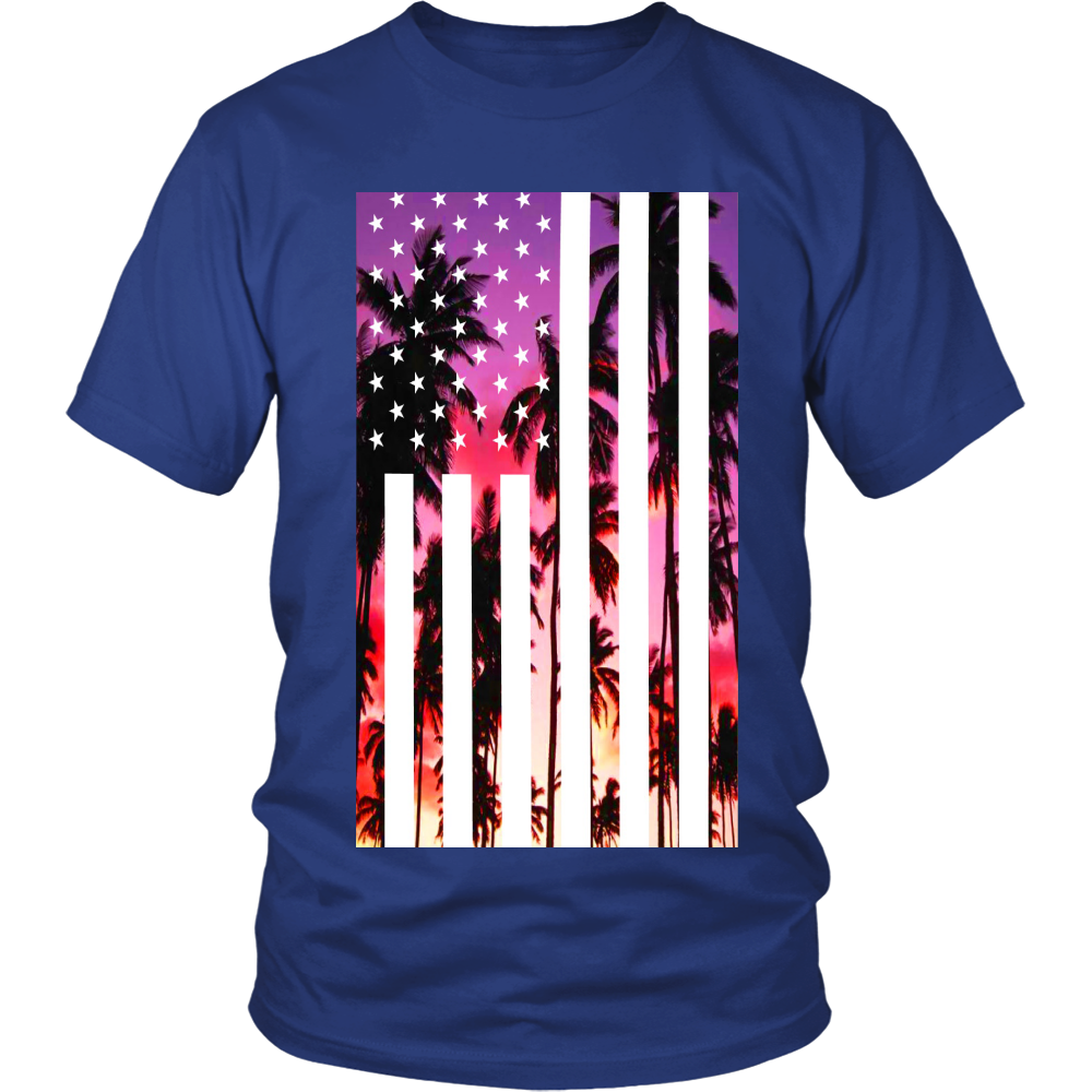 "Los Angeles ""Palm Tree U.S.A."" Shirt - Los Angeles Source  - 5"