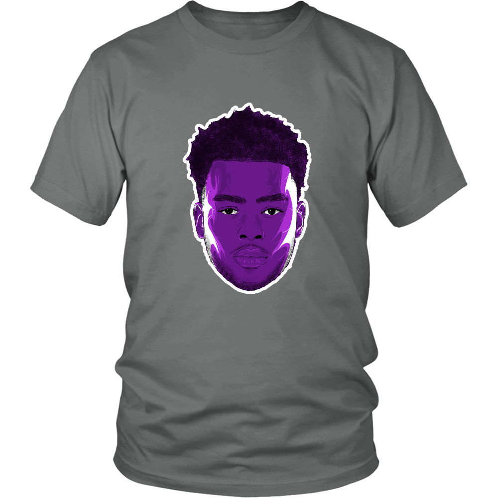"D'Angelo Russell ""The Future"" Shirt - Los Angeles Source  - 8"