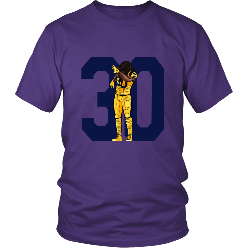 "Todd Gurley ""Dab On Em'"" Shirt - Los Angeles Source  - 5"