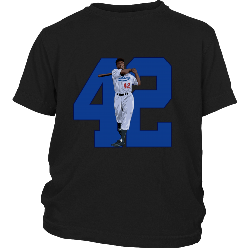 "Jackie Robinson ""Game Changer"" Youth Shirt - Los Angeles Source  - 4"