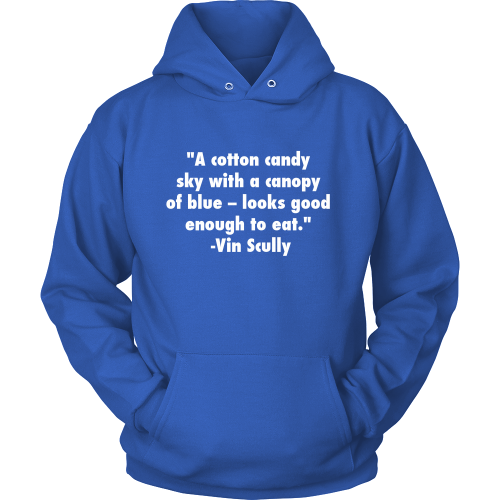 "Vin Scully ""Cotton Candy"" Hoodie - Los Angeles Source  - 1"