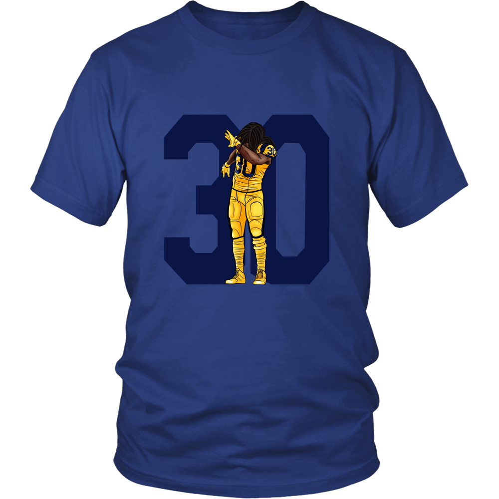 "Todd Gurley ""Dab On Em'"" Shirt - Los Angeles Source  - 2"