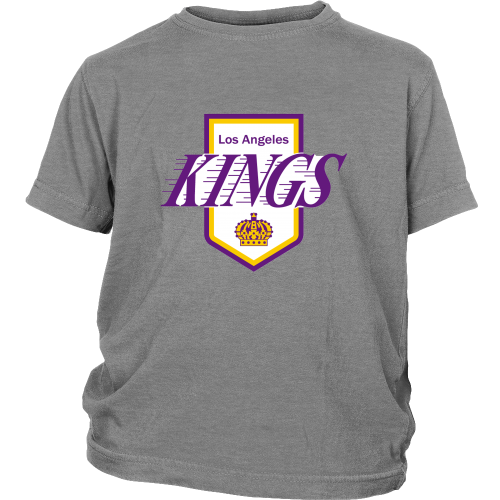 "LA Kings ""Classic 1972 Logo"" Youth Shirt - Los Angeles Source  - 1"
