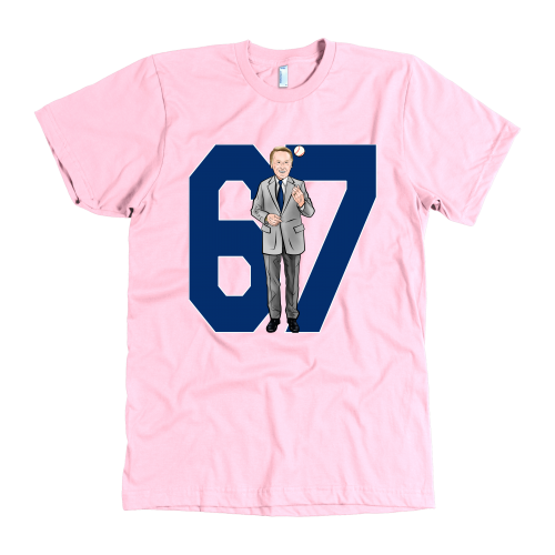 "Vin Scully ""67 Seasons"" American Apparel Shirt - Los Angeles Source  - 3"