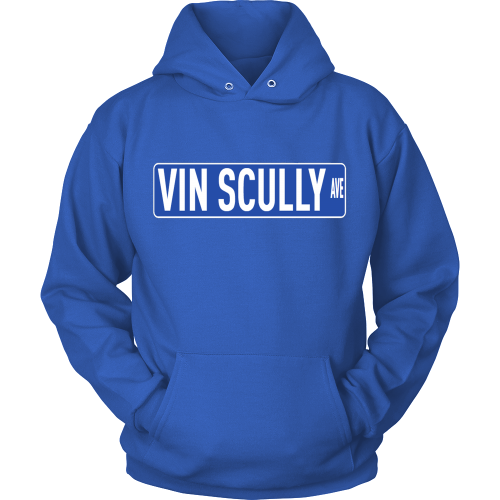 "Vin Scully ""Vin Scully Ave."" Hoodie - Los Angeles Source  - 1"