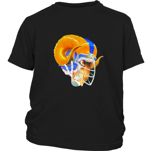 "LA Rams ""The Mad Ram"" Youth Shirt - Los Angeles Source  - 3"