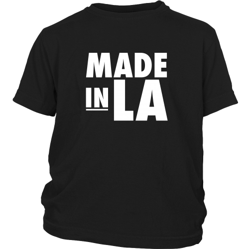 "Los Angeles ""Made In LA"" Youth Shirt - Los Angeles Source  - 4"