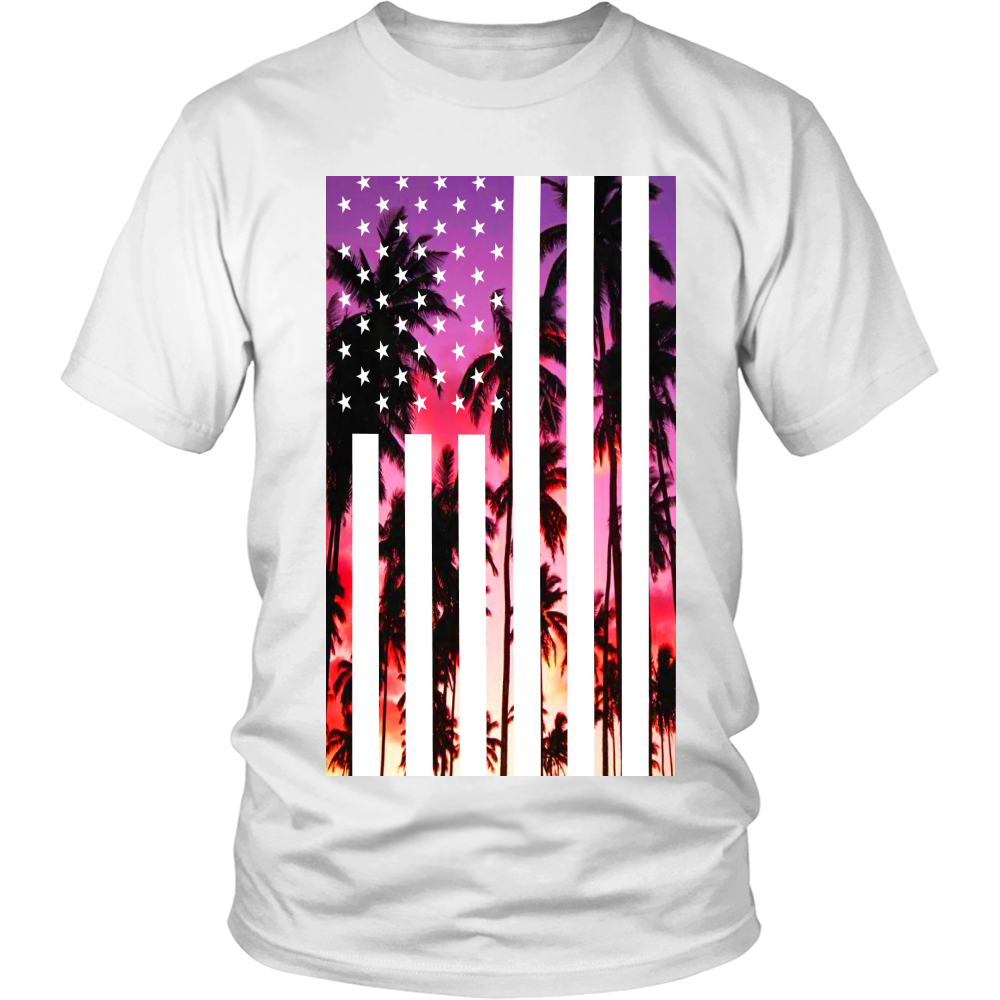 "Los Angeles ""Palm Tree U.S.A."" Shirt - Los Angeles Source  - 6"