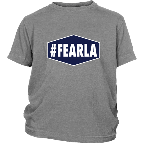 "Dodgers ""#FEARLA"" Youth Shirt - Los Angeles Source  - 1"