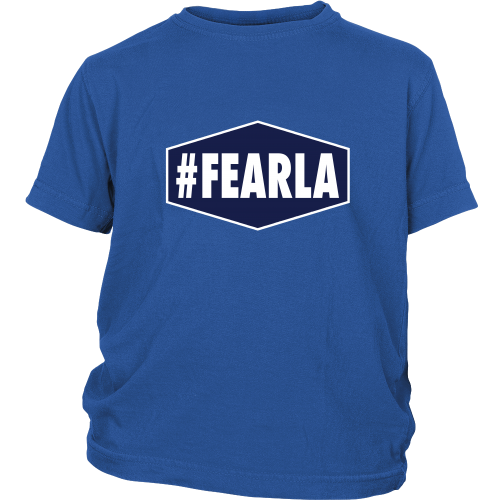 "Dodgers ""#FEARLA"" Youth Shirt - Los Angeles Source  - 3"