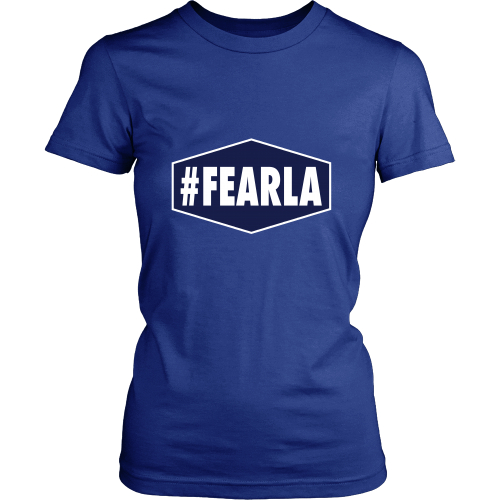 "Dodgers ""#FEARLA"" Women's Shirt - Los Angeles Source  - 4"