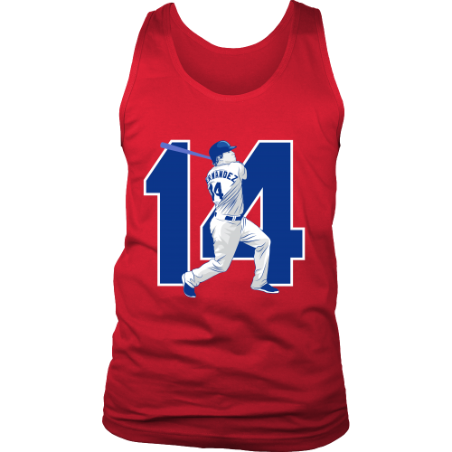 "Enrique Hernandez ""Kike"" Tank Top - Los Angeles Source  - 6"