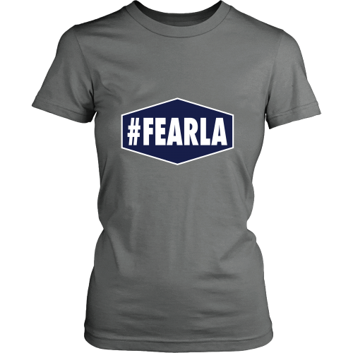 "Dodgers ""#FEARLA"" Women's Shirt - Los Angeles Source  - 2"