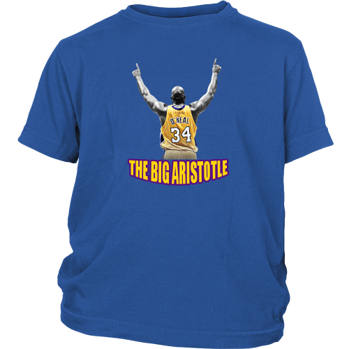 "Shaq Tribute ""The Big Aristotle"" Youth Shirt - Los Angeles Source  - 3"