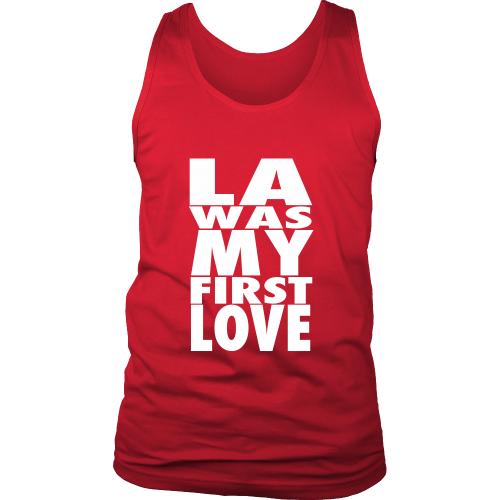 """LA Was My First Love"" Tank Top - Los Angeles Source  - 5"