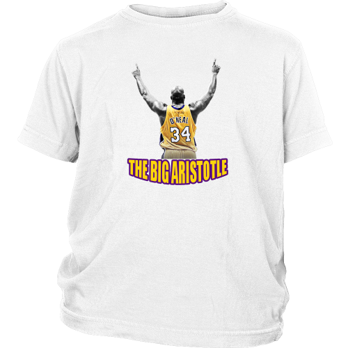 "Shaq Tribute ""The Big Aristotle"" Youth Shirt - Los Angeles Source  - 2"
