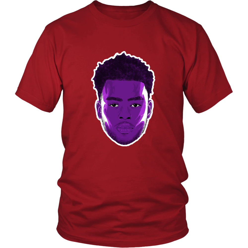 "D'Angelo Russell ""The Future"" Shirt - Los Angeles Source  - 4"