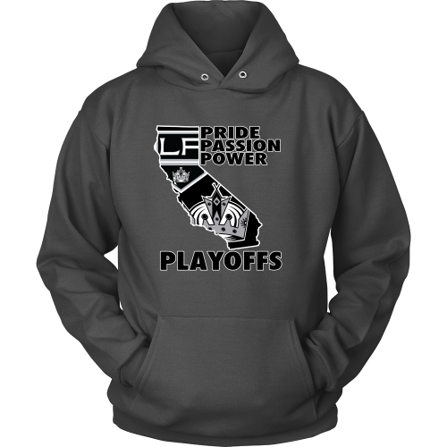 "LA Kings ""Playoff Time"" Hoodie - Los Angeles Source  - 2"